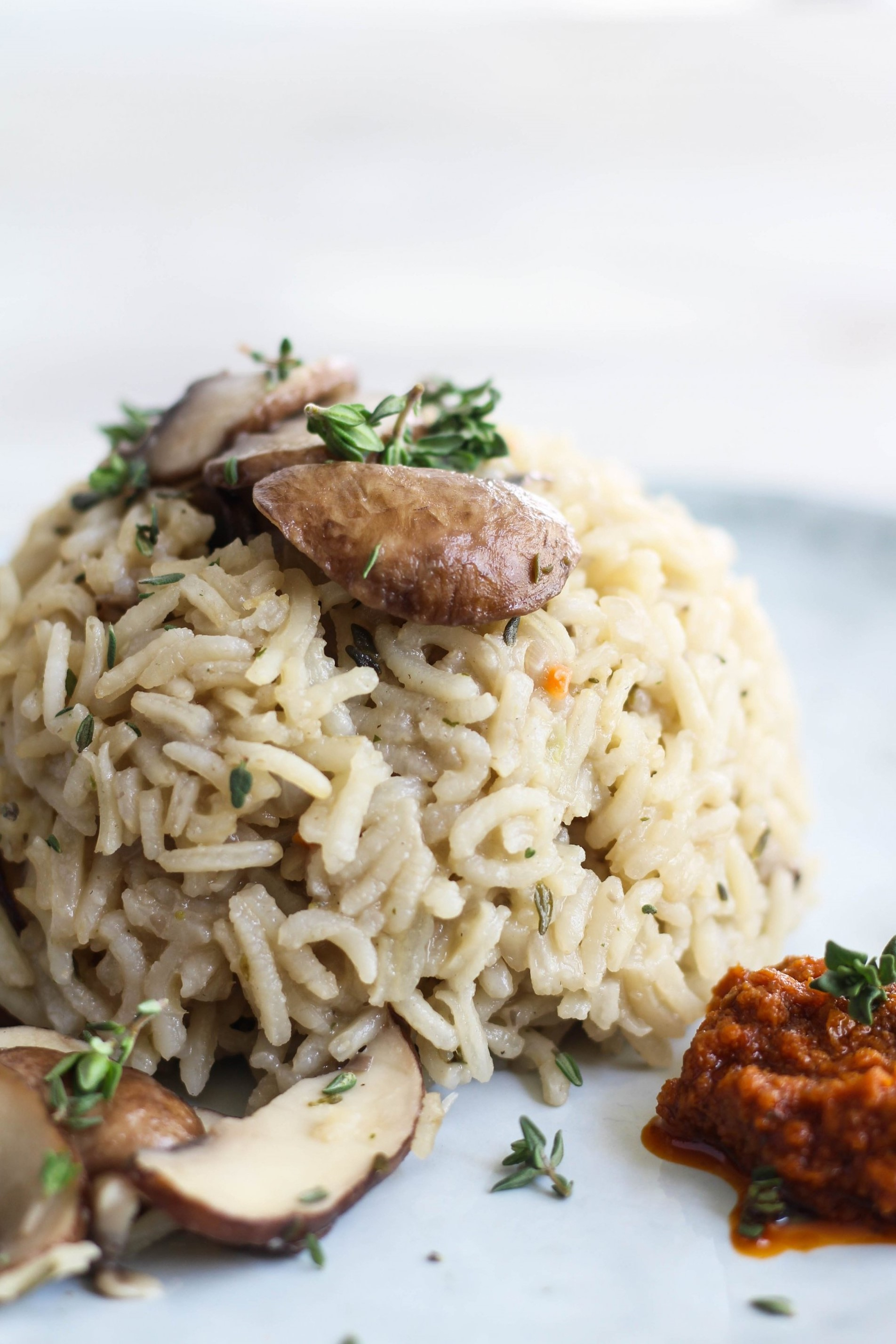 veganes Risotto mit Pilzen by somegreenlife food blog