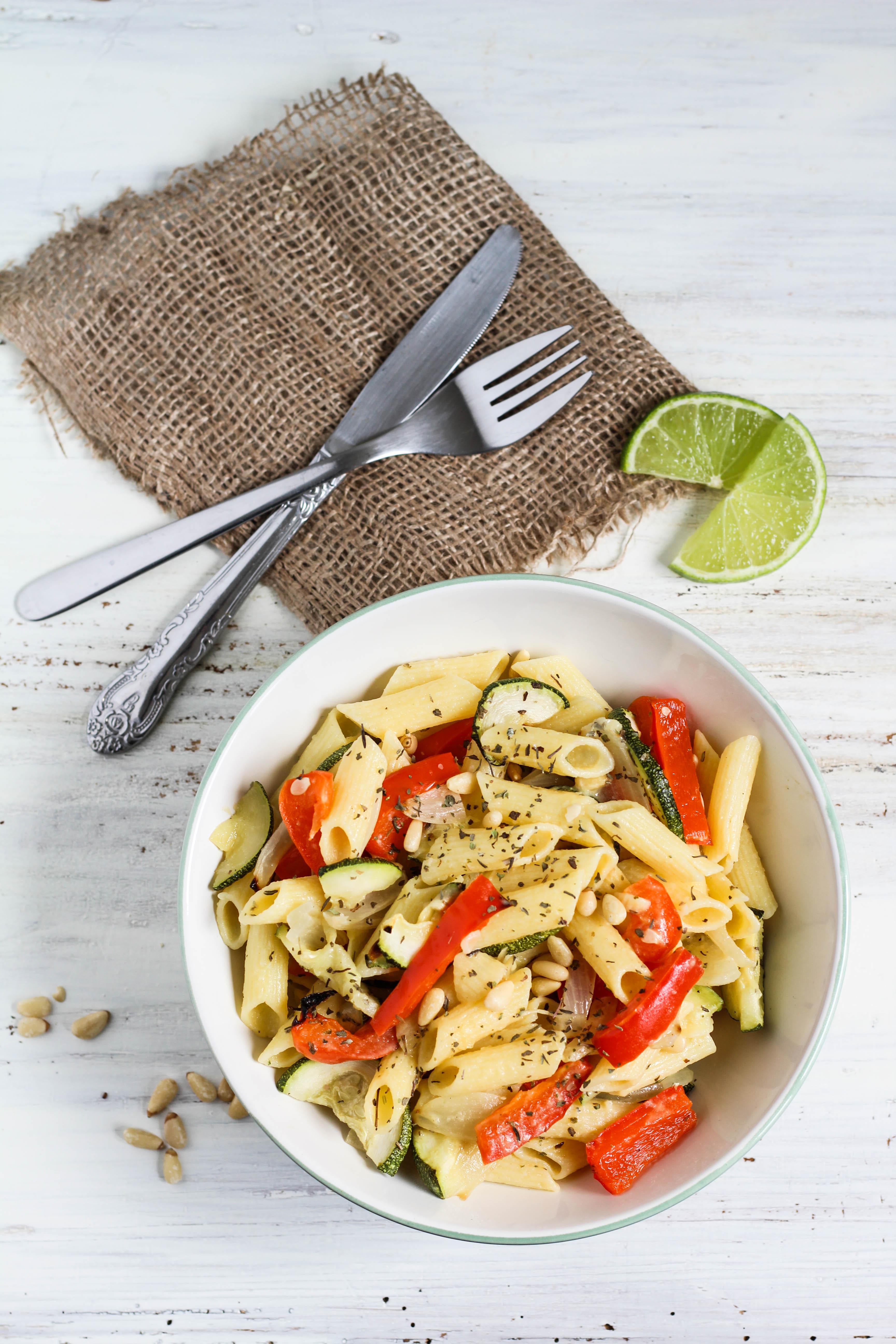 mediterranean-pasta-salad-with-oven-roasted-vegetables-vegan-gluten-free