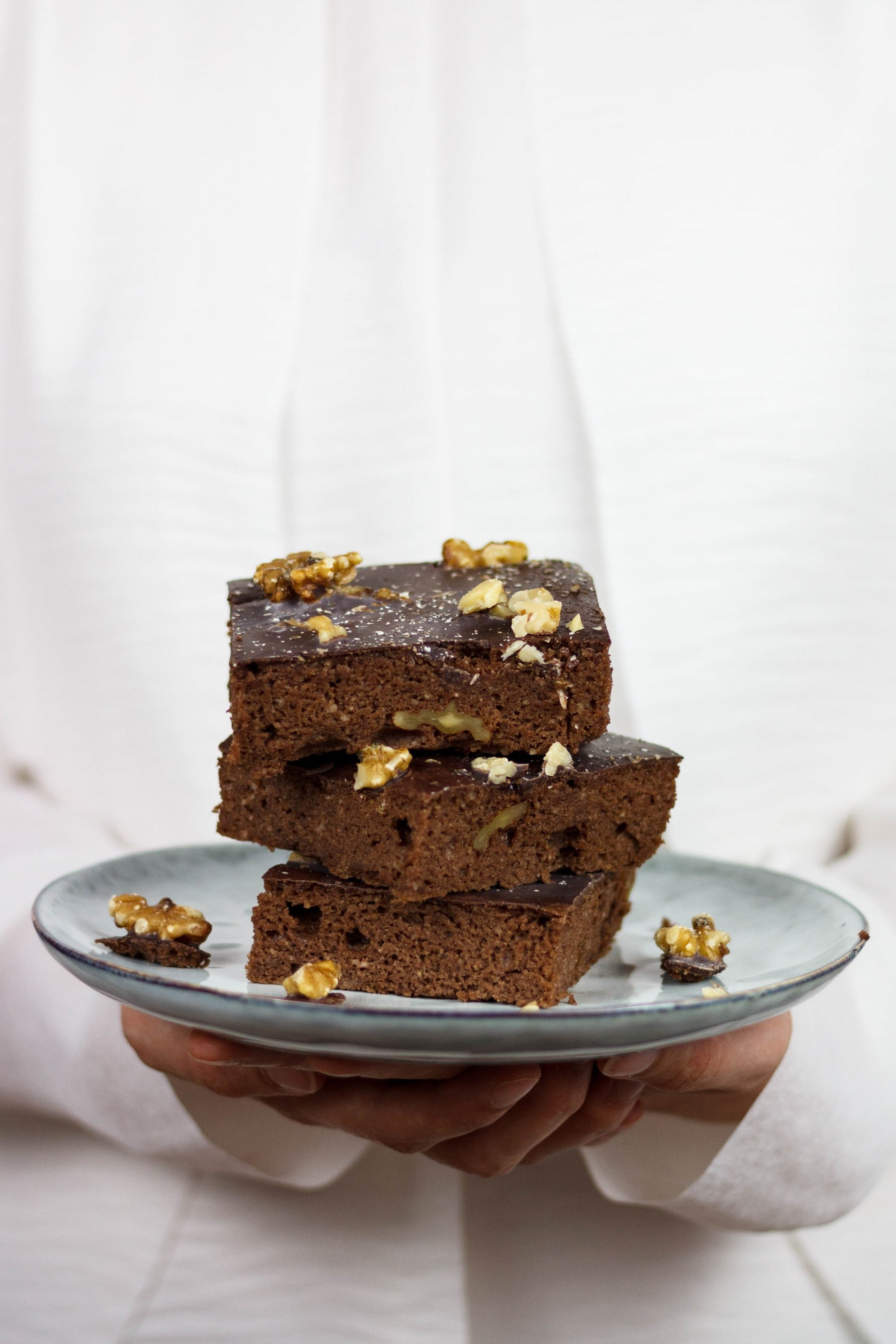 Brownies vegan und zuckerfrei